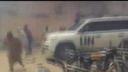 2012-05-16 美國之音視頻新聞: 敘利亞政府軍殺死20名送葬平民