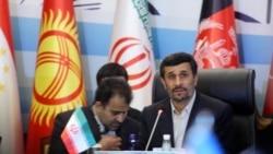 محمود احمدی نژاد در نشست اکو - استانبول