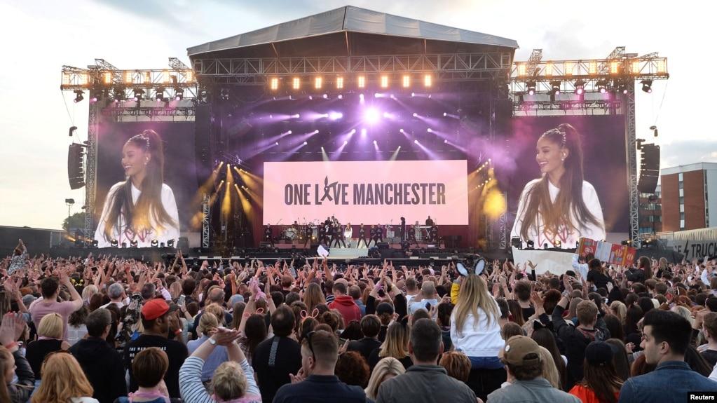 "Resultado de imagen de ""One Love Manchester"""