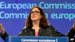 Kwamishiniyar Cinakayyar EU Cecilia Malmstroem