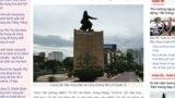 Tượng đài Trần Hưng Đạo ở thành phố Hồ Chí MinhTran Hung Dao statue in Ho Chi Minh City.
