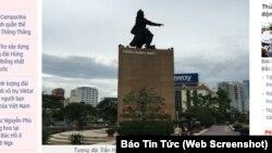 Tượng đài Trần Hưng Đạo ở TP HCM.