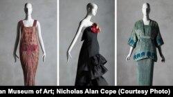 عکس هایی از سه لباس اهدایی - منبع عکس از موزه متروپلیتن/ Nicholas Alan Cope