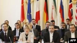 Учасники нарад щодо громадянської війни в Сирії
