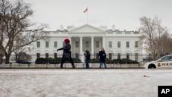 Белый дом. Вашингтон, округ Колумбия. 27 января 2015 г.
