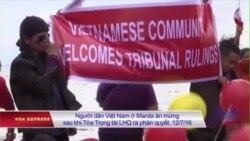 Người Việt ở Philippines 'mừng chiến thắng trước Trung Quốc'