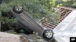 Македонка - жртва на ураганот Ајрин