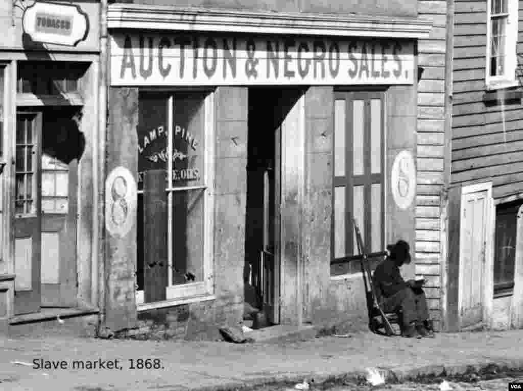Sabiq qul bazarı. 1868.