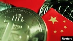 比特币和中国国旗