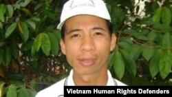 Anh Đặng Xuân Diệu trước khi bị bắt.