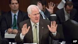 法案主要推手德克萨斯州共和党参议员科宁