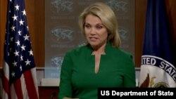 헤더 노어트 미 국무부 대변인