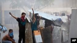 2014年2月28日在委內瑞拉首都加拉加斯的反政府示威 (資料照片)