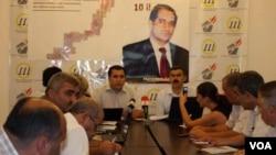 Mahir Abdullayevin Hüquqlarını Müdafiə Komitəsinin toplantısı