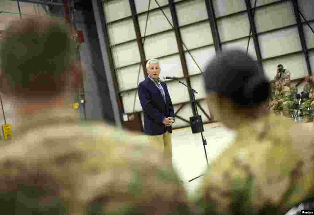 2014ء کے اختتام کے بعد افغانستان سے دوطرفہ سکیورٹی معاہدے طے پانے کی صورت میں وہاں صرف 9,800 امریکی فوجی تعینات ہوں گے۔