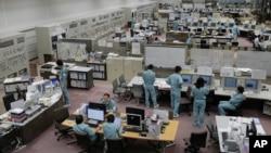 Пункт управления завода по переработке отработанного ядерного топлива (архивное фото)