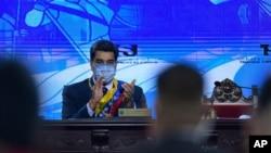 """El pasado mes de enero, Maduro aseguró a través de un video que el """"milagroso"""" Carvativir podría curar la enfermedad provocada por el COVID-19."""