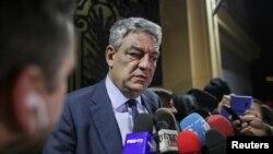 PM Rumania Mihai Tudose Tudose mengundurkan diri hari Senin (15/1) malam.