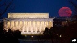 Spomenik Abrahamu Linkolnu u Vašingtonu