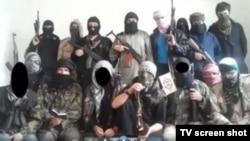 Foto sa jednog video snimka o islamskim ratnicima iz BiH i Sandžaka