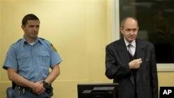 Zdravko Tolimir u sudnici Haškog tribunala