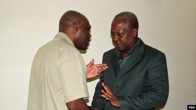 Shaka Ssali and Ghana's President, John Dramani Mahama, meet in Accra.
