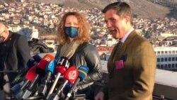 Nelson i Sattler posjetili Mostar na dan izbora