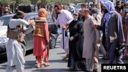 کابل میں خواتین کا احتجاجی مظاہرہ ، 7 ستمبر 2021ء