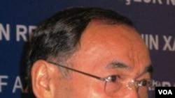 Kenat Saudabayev,Menteri Luar Negeri Kazakhstan, akan menemui Menlu AS Hillary Clinton.