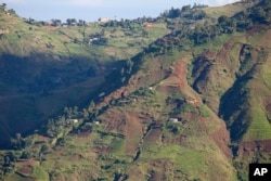 Denuded hillsides of the Massif de la Selle in southern Haiti is an important watershed that feeds Port-au-Prince.