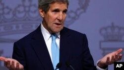John Kerry Sakataren Harkokin Wajen Amurka