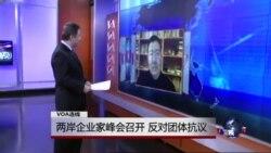 VOA连线:两岸企业家峰会召开,反对团体抗议