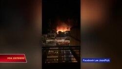 Hỏa hoạn thiêu rụi nhiều nhà của người Việt ở Campuchia