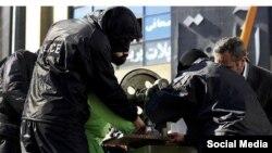 تصویری از اجرای حکم قطع دست در ایران که چند سال پیش در ایران اجرا شد و اعتراضهایی در پی داشت