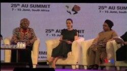 Angelina Jolie: Lideres devem tornar mulheres uma prioridade