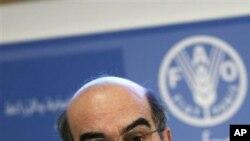 호세 그라지아노 다 실바 유엔식량농업기구 사무총장 (자료사진)