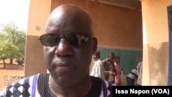 Tagsséba Nitiéma, gouverneur de la région du Sud-ouest burkinabè (VOA/Issa Napon)