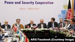 """نشست """"پروسه کابل"""" روز سه شنبه با حضور نمایندگان ۲۷ کشور و سازمانهای بینالمللی، برگزار شد"""