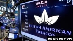 Financial Markets Wall Street British American Tobacco