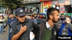 Tofiq Məmmədov polis tərəfindən saxlanılarkən