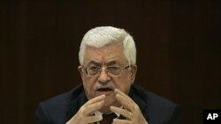 1月29号巴勒斯坦领导人阿巴斯在法塔赫中央委员会上发言