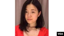 中国知名维权律师李和平的助手赵威(推特照片)
