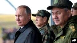 Фото для ілюстрації: військові навчання, Росія, Східний Сибір, 2018