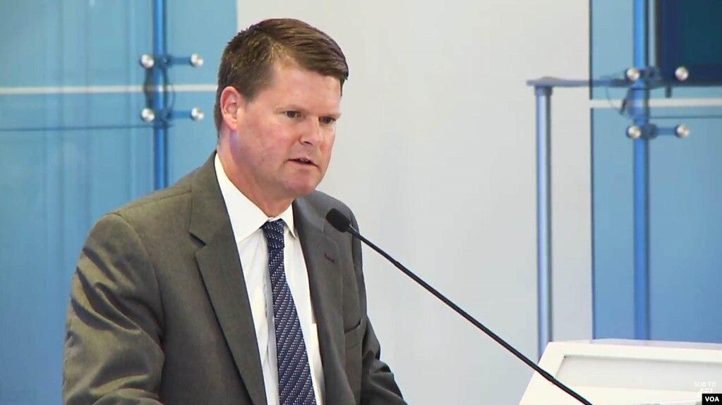 Ông Randall G. Schriver, Trợ lý Bộ trưởng Quốc phòng phụ trách các vấn đề an ninh Ấn Độ-Thái Bình Dương của Hoa Kỳ.