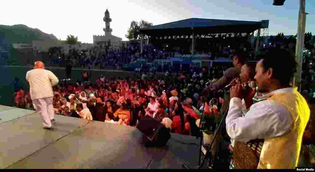 Ethiopian cultural group in keren