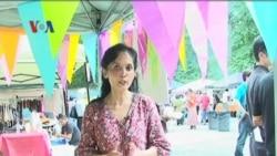 Menikmati Suasana Pasar Minang di Washington DC - Liputan Feature VOA