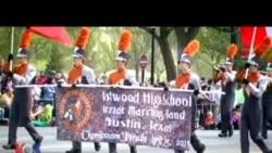 นักเรียนเชื้อสายไทยกับความประทับใจที่มีส่วนร่วมใน Cherry Blossom Parade 2013
