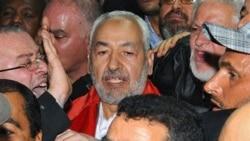 بازگشت راشد الغنوشی به تونس