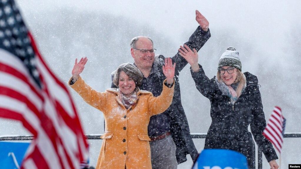 Resultado de imagen para foto de la senadora de Minnesota Amy Klobuchar