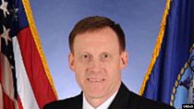 FILE - Vice Admiral Michael S. Rogers.